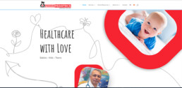 Parra Pediatrics Website Main Page